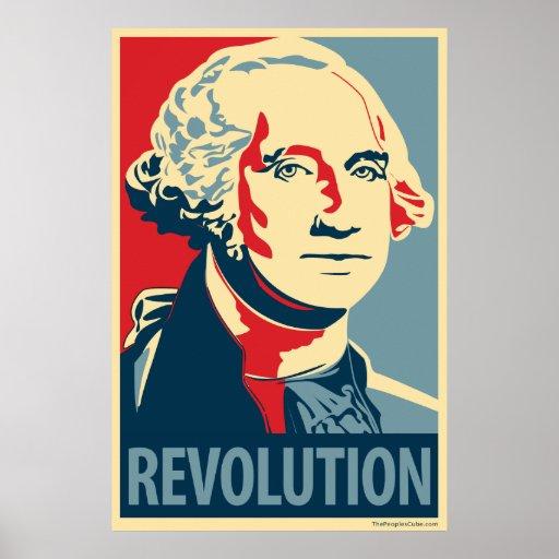 George Washington: Obama-Parodieplakat Plakatdruck