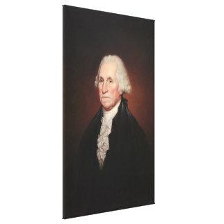 GEORGE WASHINGTON-Porträt durch Rembrandt Peale Leinwanddruck
