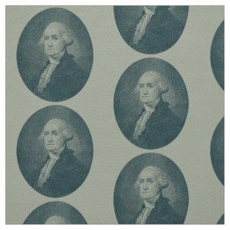 George Washington-Porträt-Oval Stoff