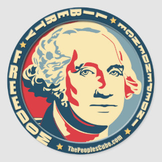 George Washington - Revolution: OHP Aufkleber