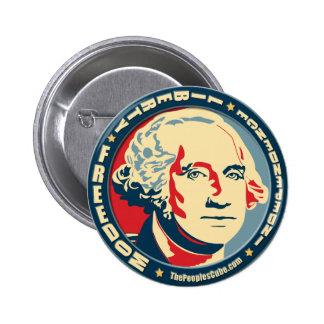 George Washington - Revolution OHP Knopf Buttons