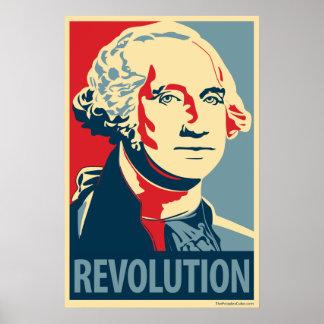 George Washington - Revolution: OHP Plakat