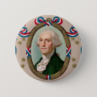 George Washington Runder Button 5,1 Cm