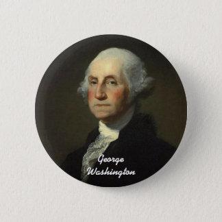 George Washington Runder Button 5,1 Cm