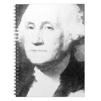George Washington Spiral Notizblock