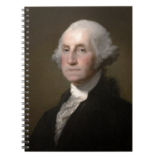 George Washington - Vintages Kunst-Porträt Notizblock
