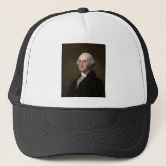 George Washington - Vintages Kunst-Porträt Truckerkappe