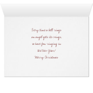 GeorgeLassos die Mond-Weihnachtskarte Karte