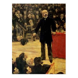 Georges Clemenceau Postkarte