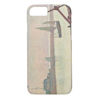 Georges Seurat - der Kanal bei Gravelines iPhone 7 Hülle
