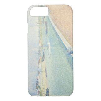 Georges Seurat - der Kanal von Gravelines iPhone 7 Hülle
