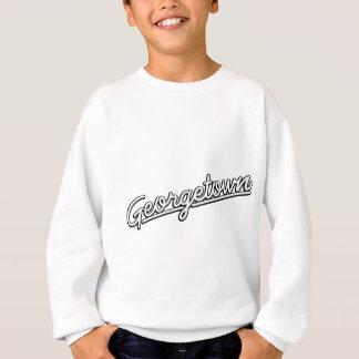 Georgetown im Weiß Sweatshirt