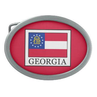Georgia Ovale Gürtelschnalle