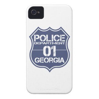 Georgia-Polizeidienststelle-Schild 01 iPhone 4 Case-Mate Hülle