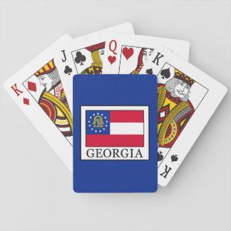 Georgia Spielkarten