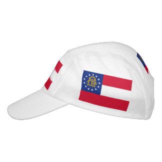 Georgia-Staats-Flaggen-Entwurf Headsweats Kappe