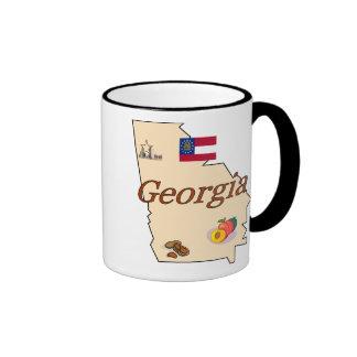 Georgia-Tasse Ringer Tasse