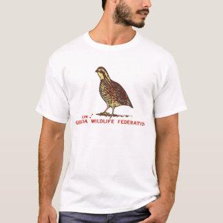 Georgia-Tier-Vereinigungs-Wachtel-Männer T-Shirt