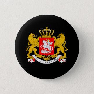 Georgia-Wappen Runder Button 5,7 Cm