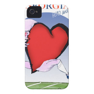 Georgiahauptherz, tony fernandes iPhone 4 cover