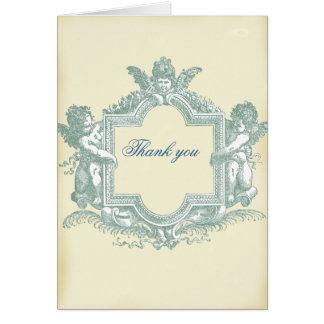 Georgiana (Sahne) Hochzeit danken Ihnen Karte