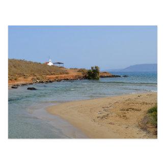 Georgioupoli Strand, Kreta-Postkarte Postkarte