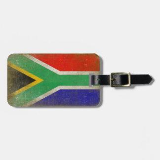 Gepäck-Umbau mit cooler Südafrika-Flagge Gepäckanhänger