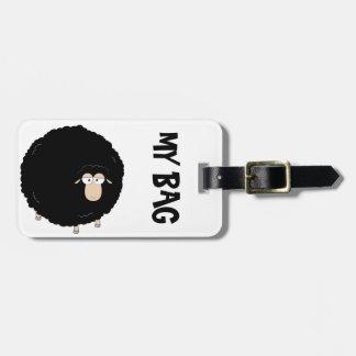 Gepäckanhänger der schwarzen Schafe