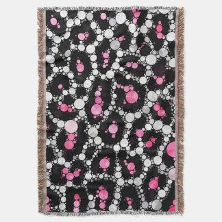 Gepard Bling Muster-Kunst-kundenspezifische Decke