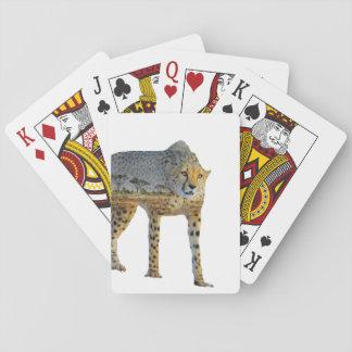 Gepard-doppelte Belichtung Spielkarten