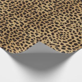 Gepard-Druck Geschenkpapier