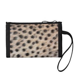 Gepard-Druck Kleingeldbörse