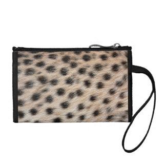 Gepard-Druck Münzbeutel