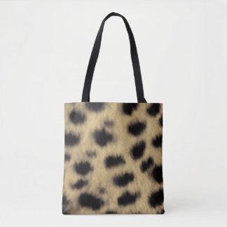 Gepard-Druck Tasche