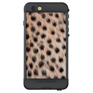 Gepard-Muster LifeProof NÜÜD iPhone 6s Plus Hülle