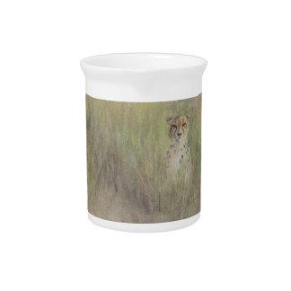 Gepard-Porzellan-Krug Getränke Pitcher