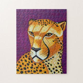 Gepard-Puzzlespiel Puzzle