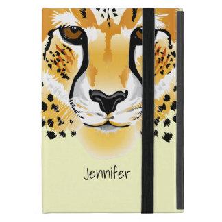 Gepardhauptnahaufnahmeillustration iPad Mini Etuis