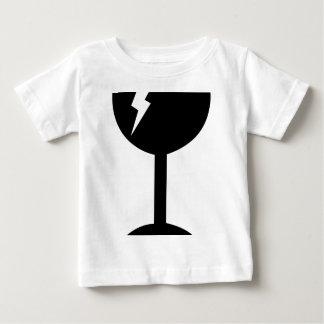 Gepflegt, Zerbrechlich, Baby T-shirt