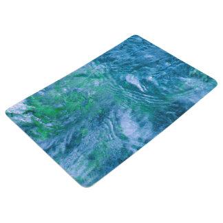Geplätschertes Wasser Bodenmatte