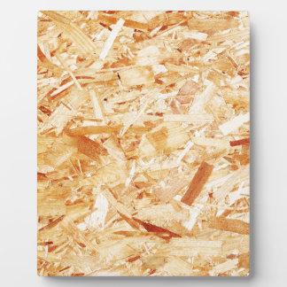 Gepresstes Holz Fotoplatte