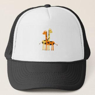 Gepunktete Giraffen-Freunde Truckerkappe