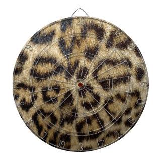 Gepunktete Leopard-Haut Dartscheibe