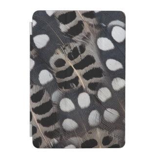 Gepunktete Schwarzweiss-Federn iPad Mini Hülle