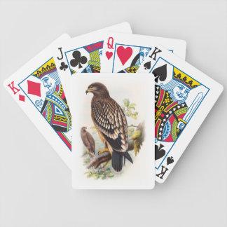 Gepunktete Vögel Adler-Johns Gould von Bicycle Spielkarten