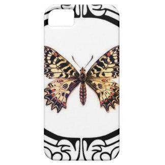 gepunkteter beringter Schmetterling iPhone 5 Hülle
