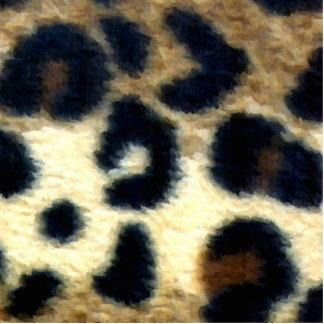 Gepunkteter Leopard-Druck Photoausschnitte