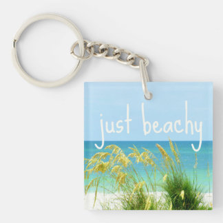 Gerade Beachy Schlüsselkette Schlüsselanhänger