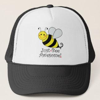 Gerade Bienen-fantastische Hummel-Biene Truckerkappe
