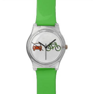 gerade durch Fahrrad… Uhr